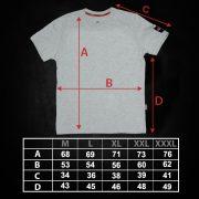 majica 1 dimenzije
