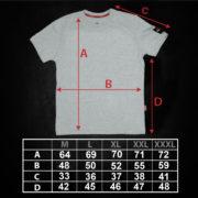 TABELA – Dimenzije majica